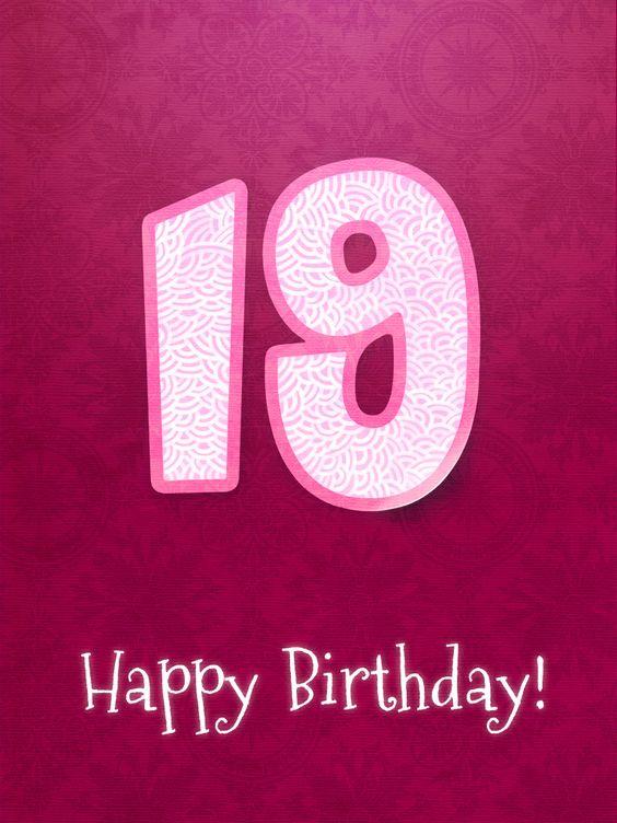 happy 19th birthday