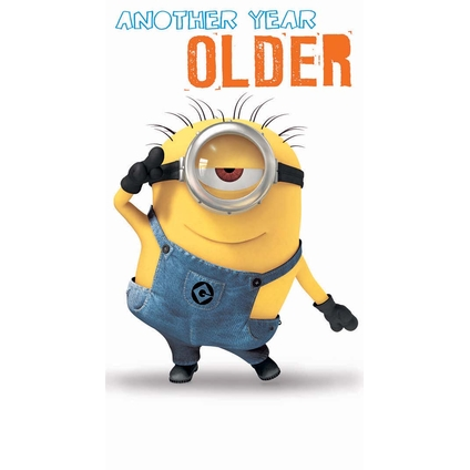 minion birthday wishes