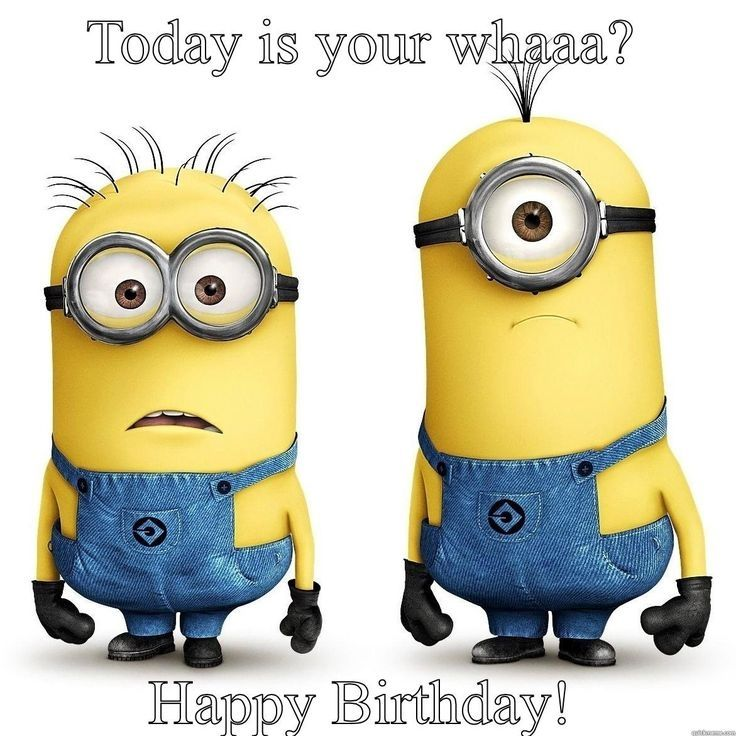 minion birthday cards