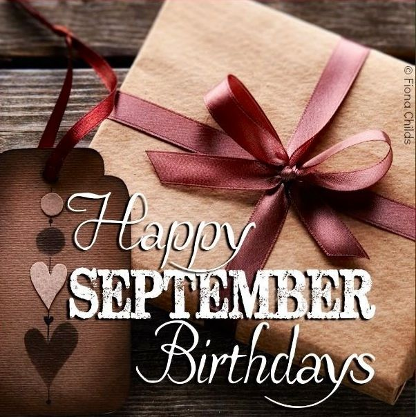 happy september birthdays