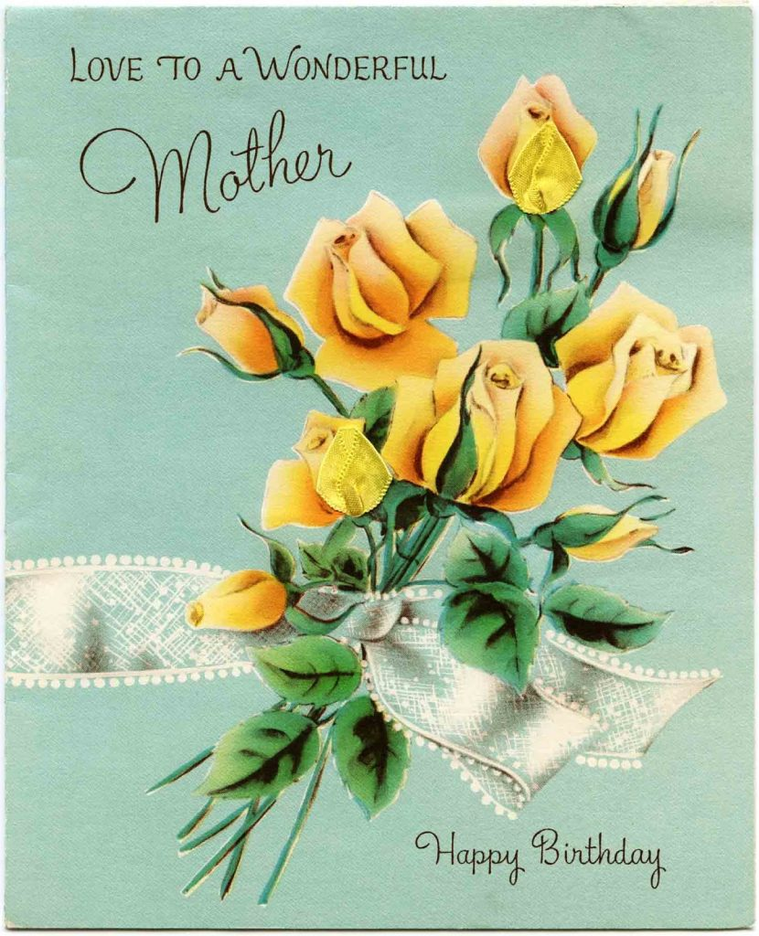 wonderful mother birthday