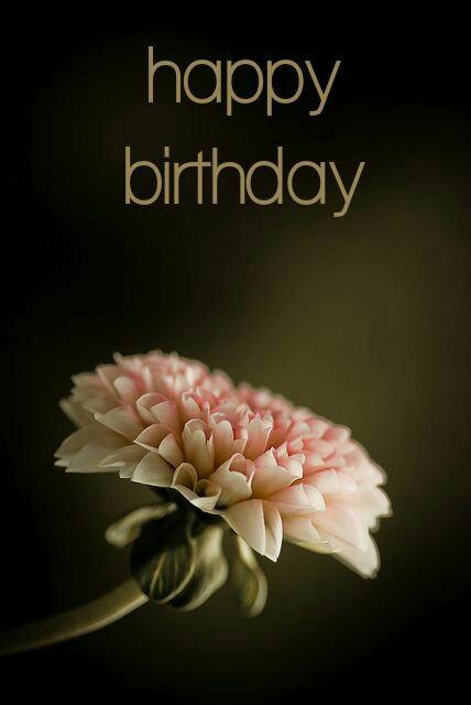 happy birthday wishes flower