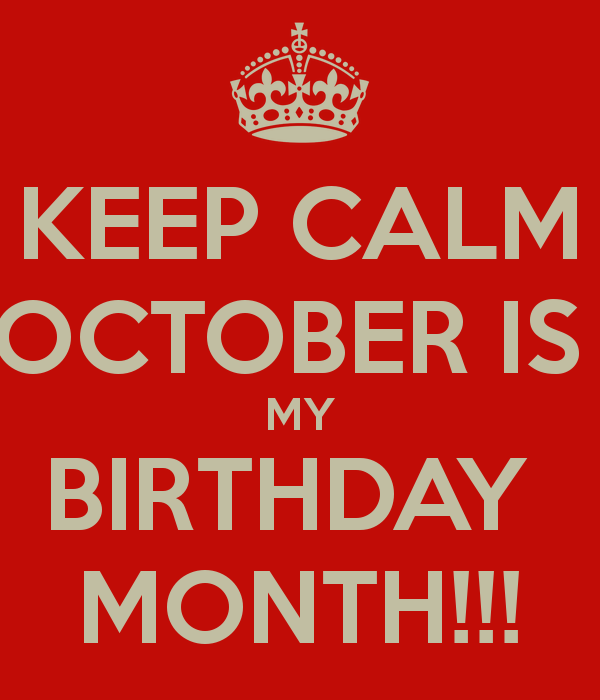 birthday month images