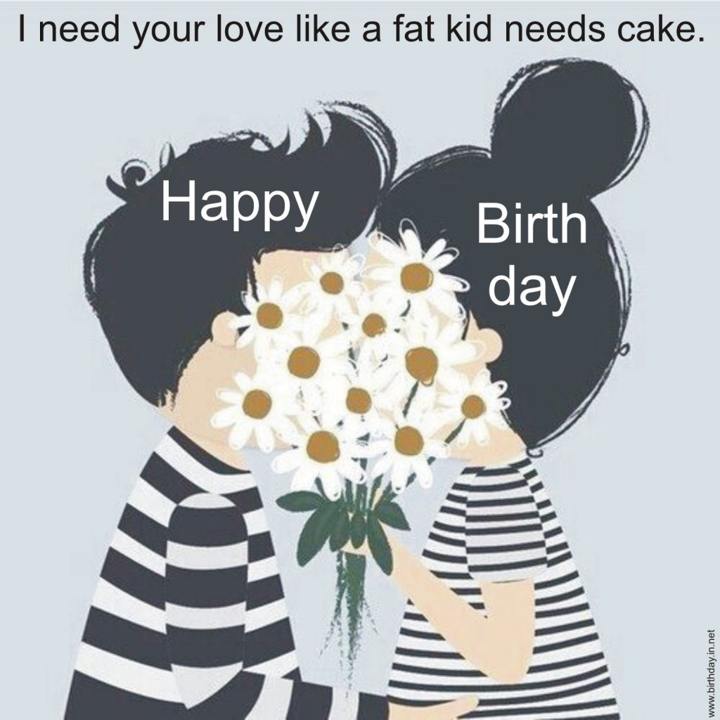 Most Romantic Birthday Images For Your Lover