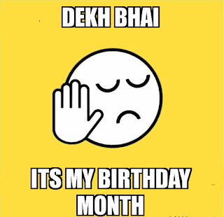 birthday month dp