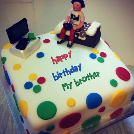 happy birthday brother whatsapp dp