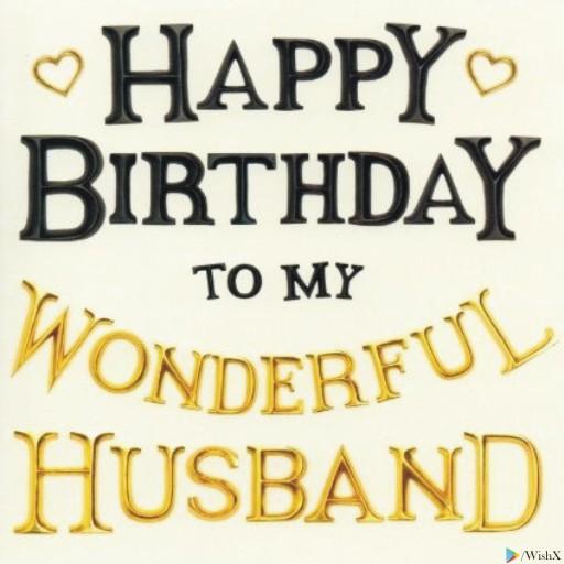 happy birthday husband dp