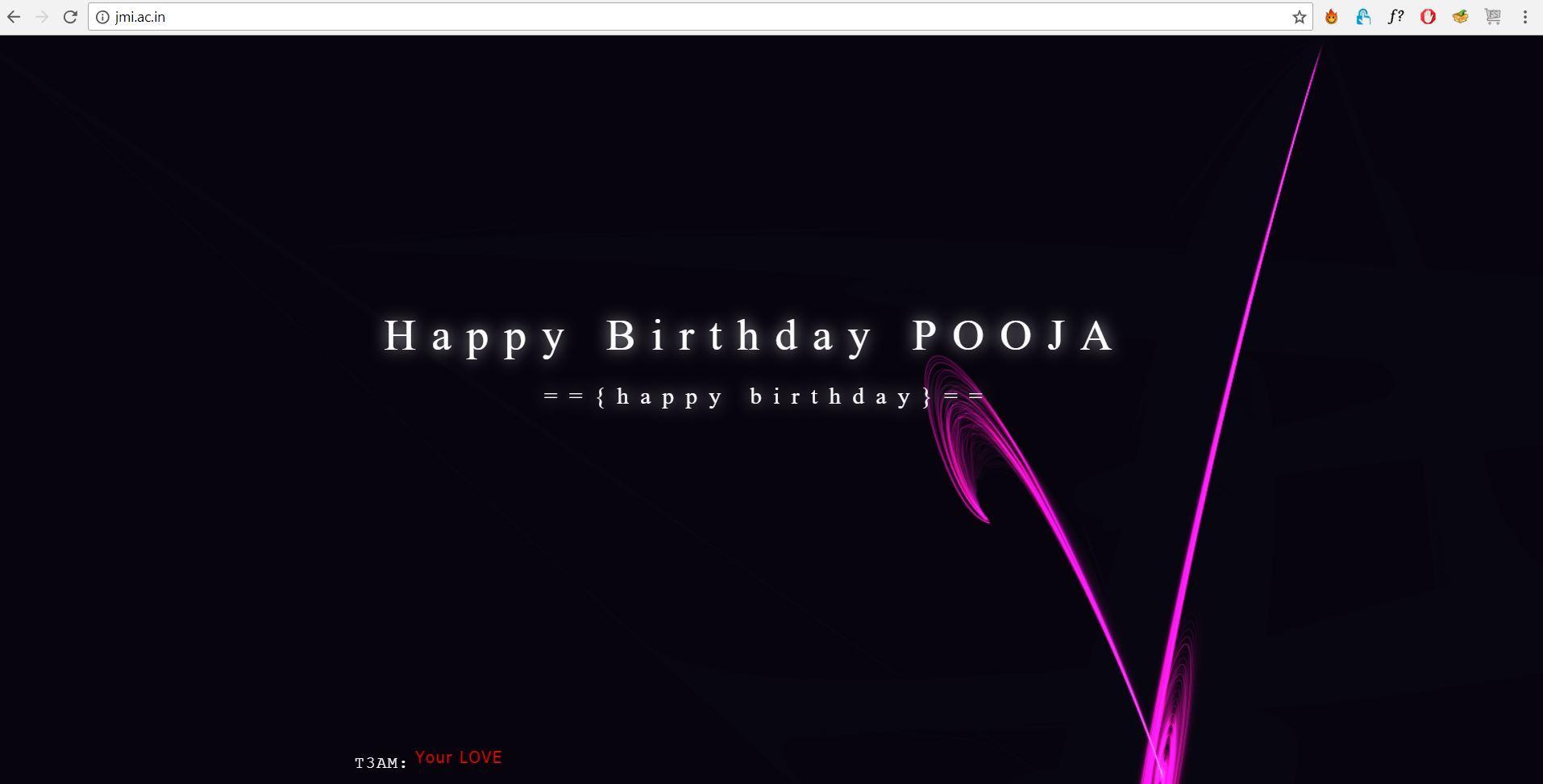 jmi website hacked